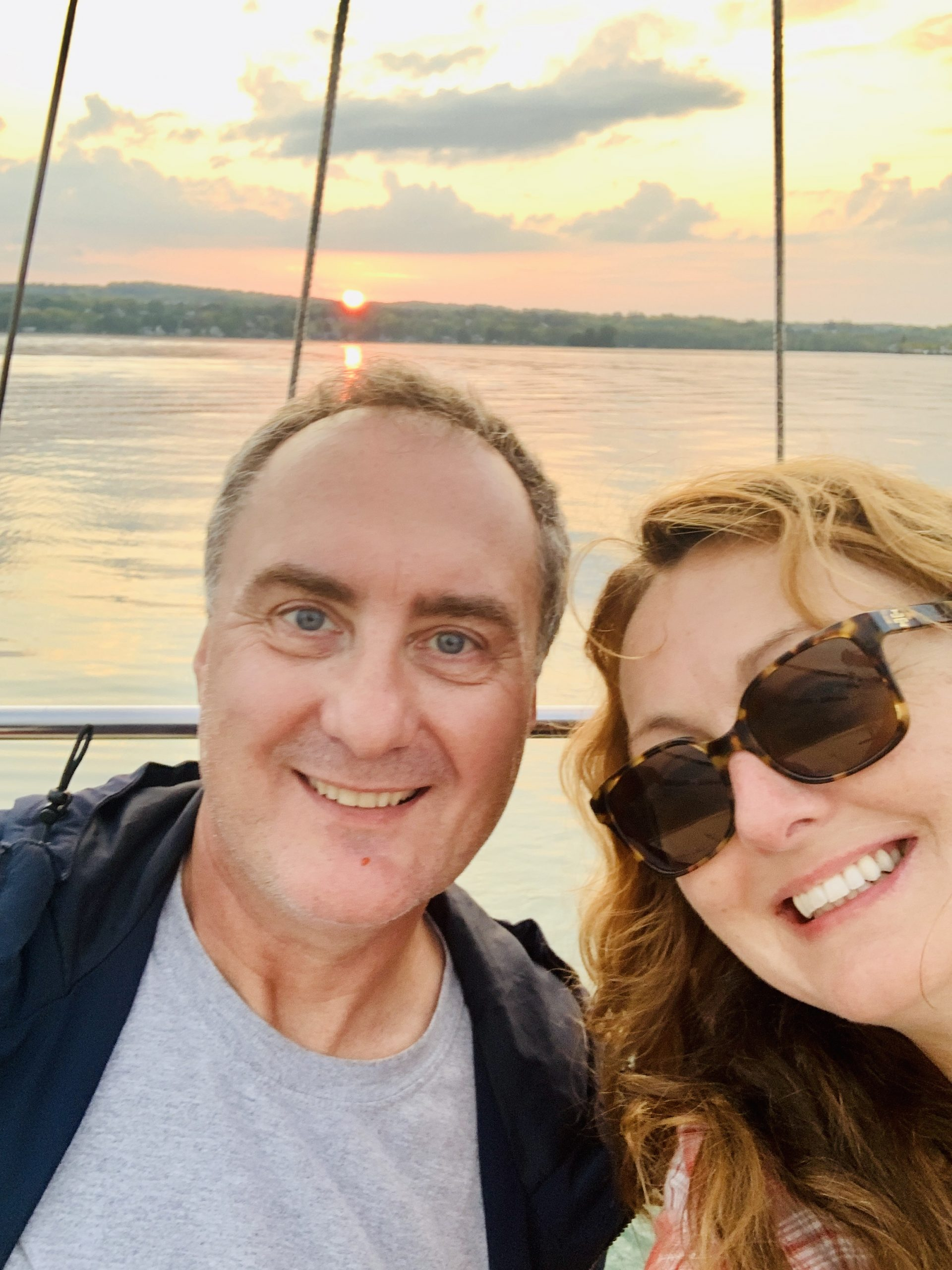 daydream sailing canandaigua Brenda and boyfriend