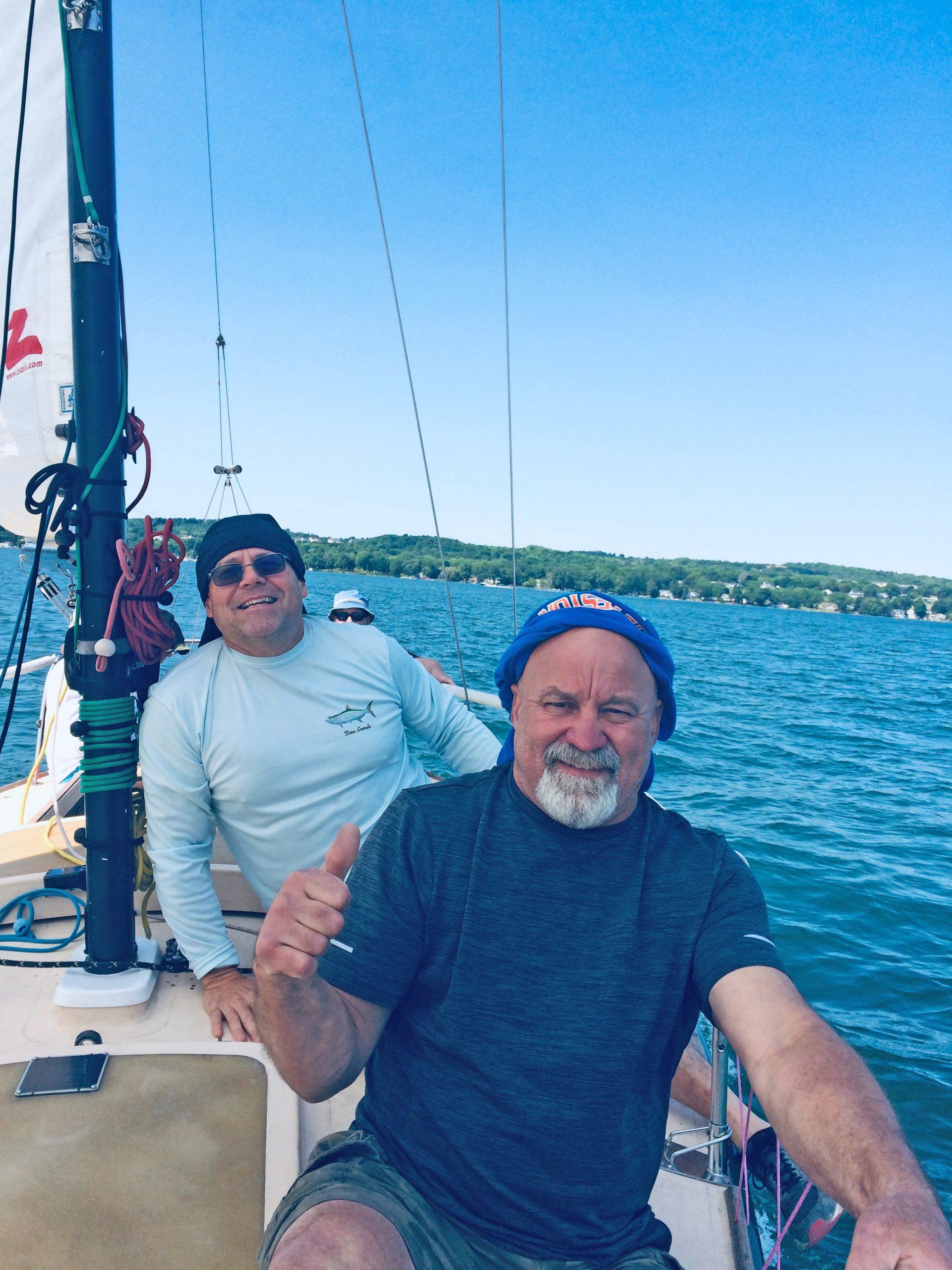 daydream sailing canandaigua customer 10