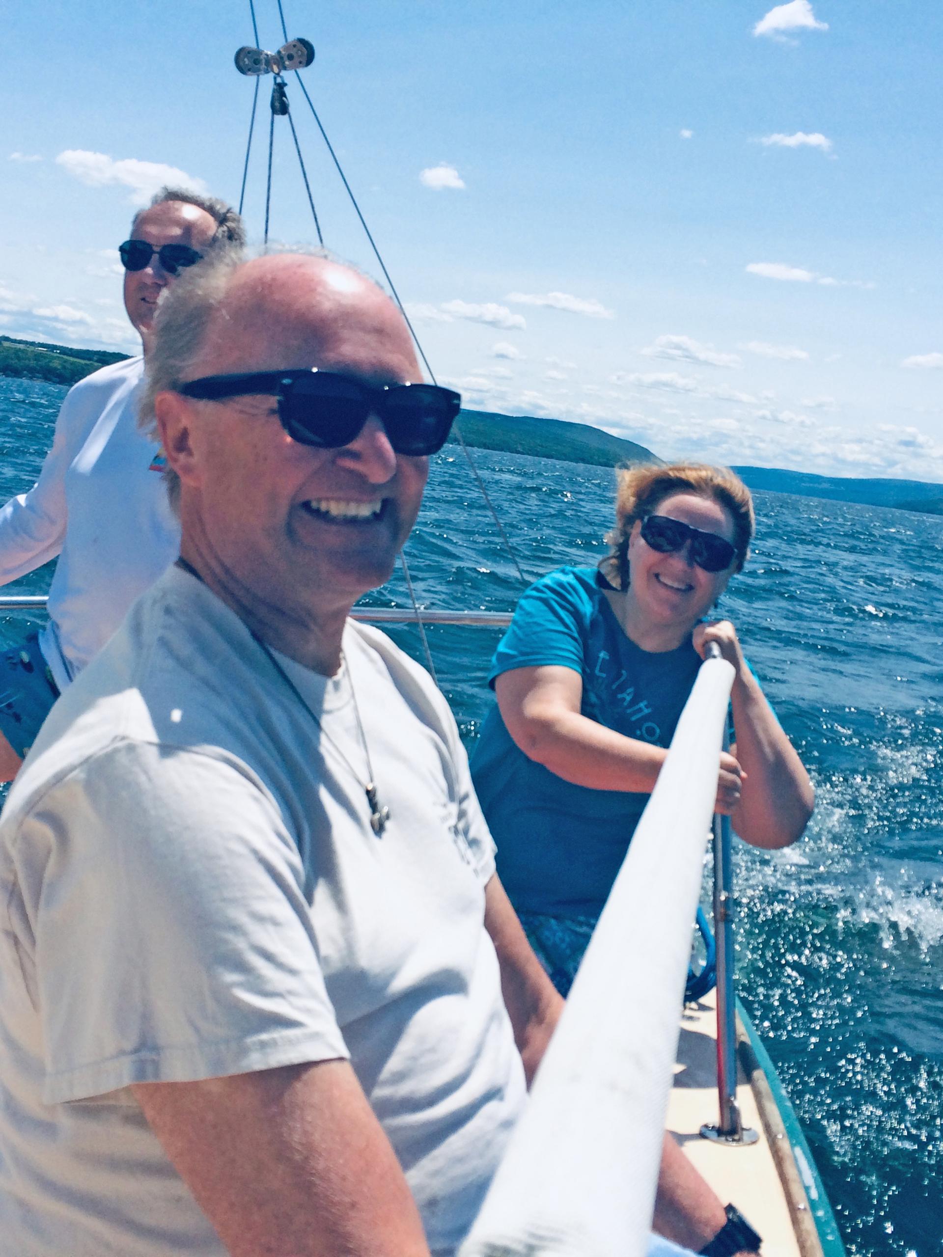 daydream sailing canandaigua customer 11