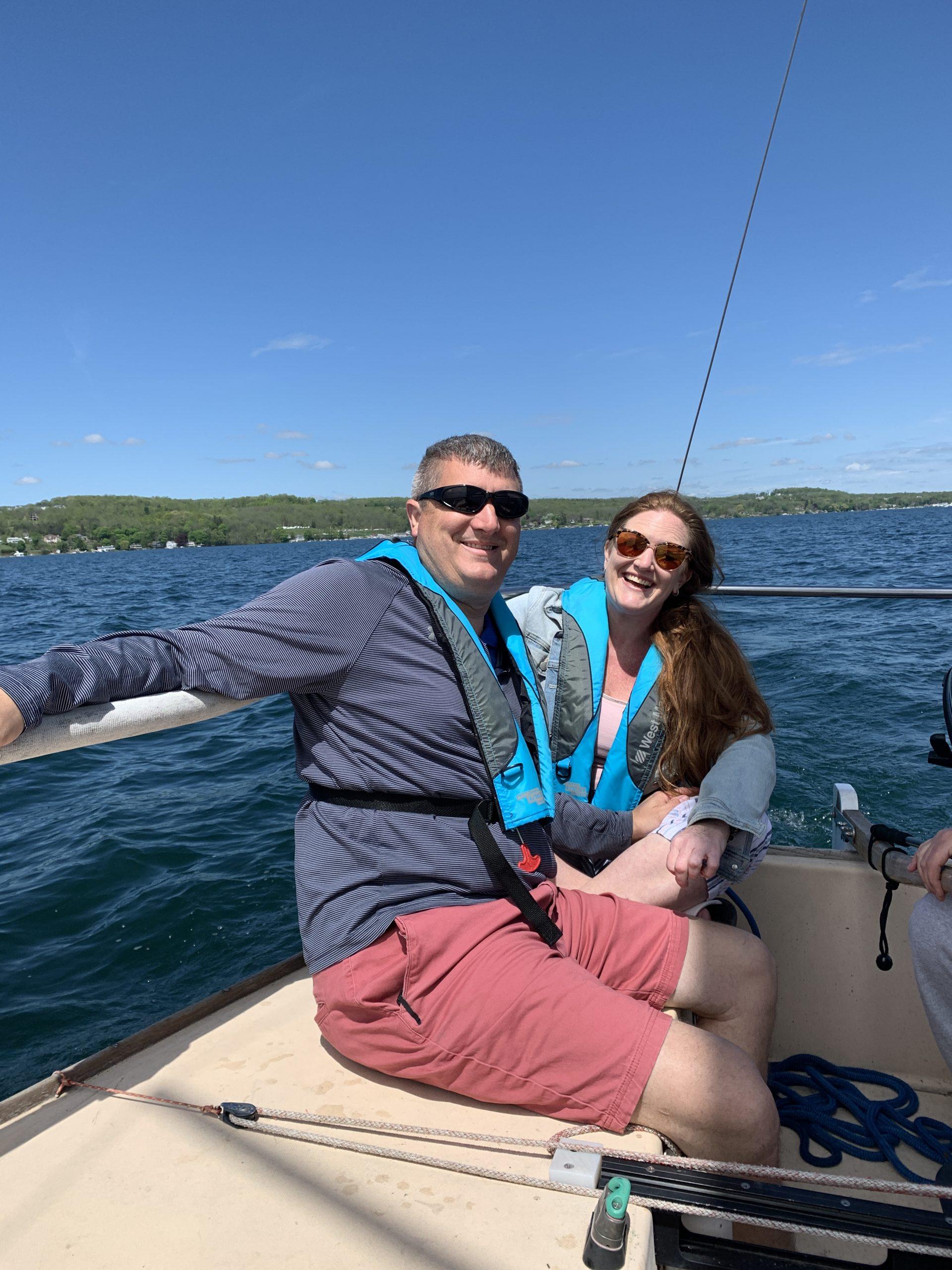 daydream sailing canandaigua customer 4